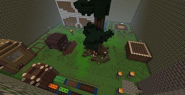 Building Large Doors In Minecraft