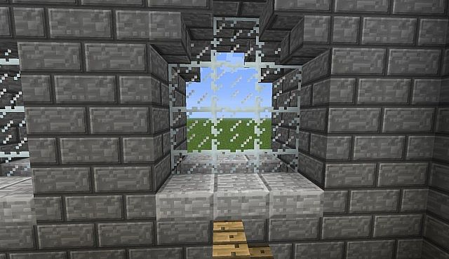 Fantasy style church minecraft project for Window design minecraft