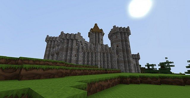 Another building in my survival castle.