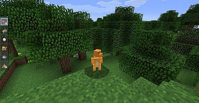 Shiny Charmander Pixelmon Minecraft pixelmon