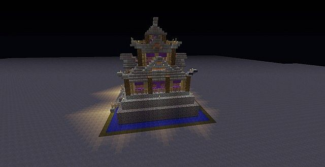 Supreme Class Asian Style House Minecraft Project