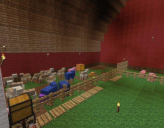 minecraft how to make an animal farm