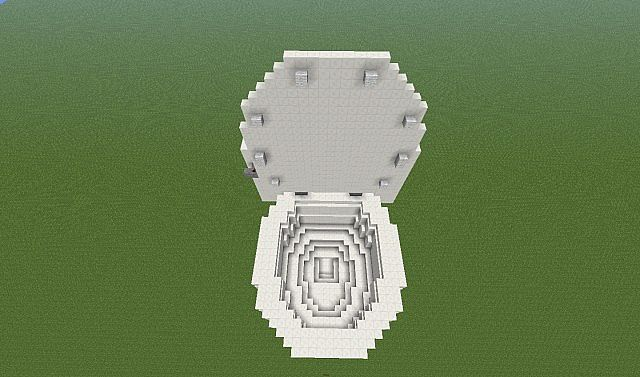 Giant Toilet Minecraft Project