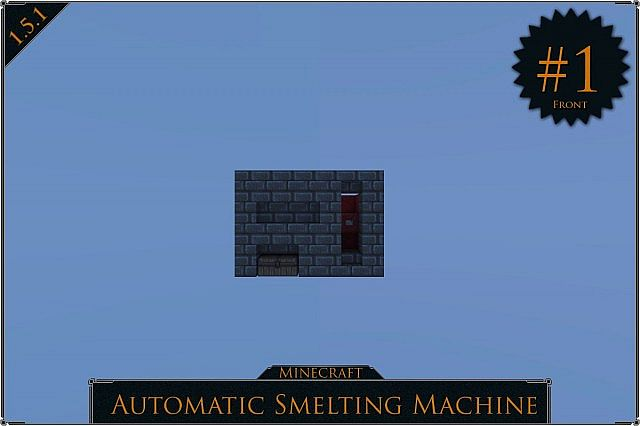 how to make extandable minecraft automatic furnace