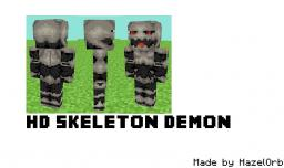 [HD Skin] Skeleton Demon Minecraft Blog