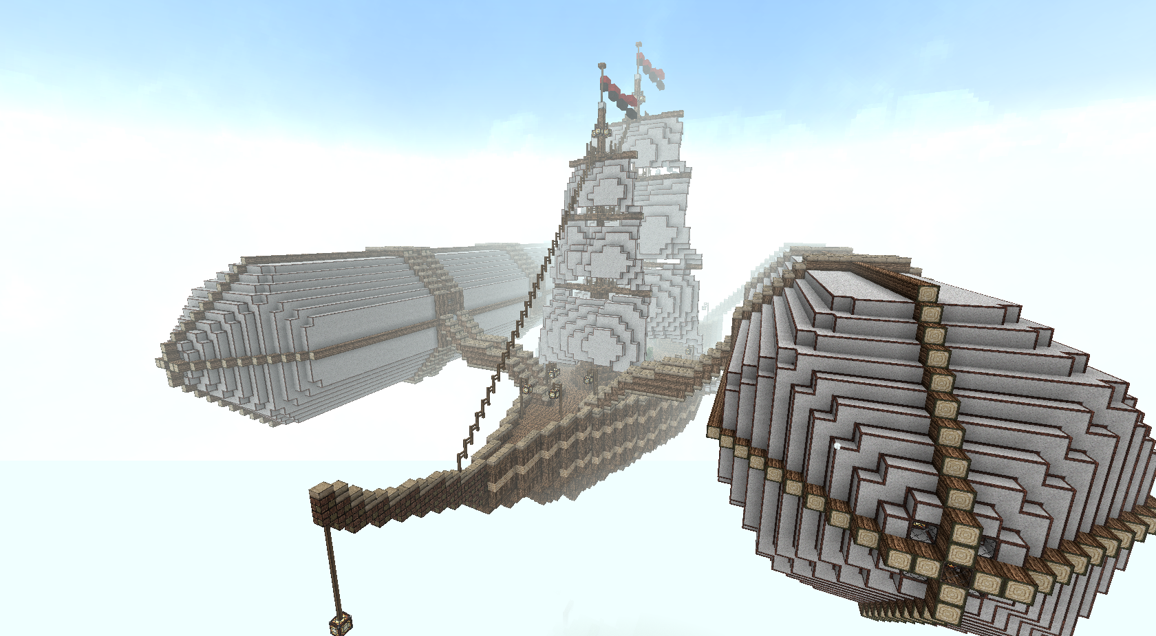 The Bara'Tosh Airship Minecraft Project