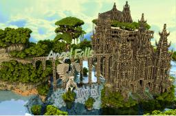 Angel Falls - Fantasy palace Minecraft Project