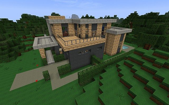 Moderne minecraft h user moderne minecraft h user for Craftingpat modernes redstone haus