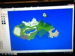 giant world inspired by skyrim Minecraft Map & Project
