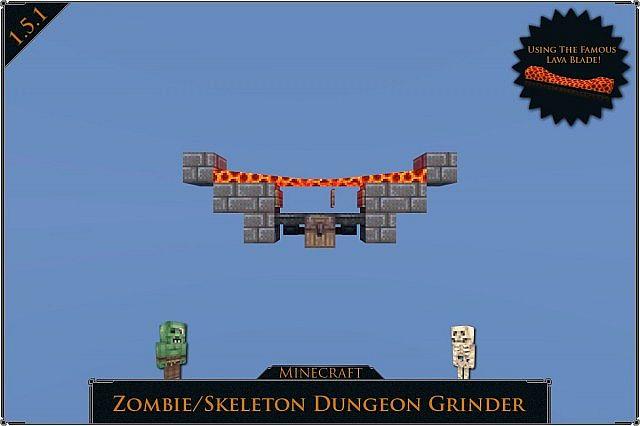 1 6 2 Dungeon Grinder Minecraft Project