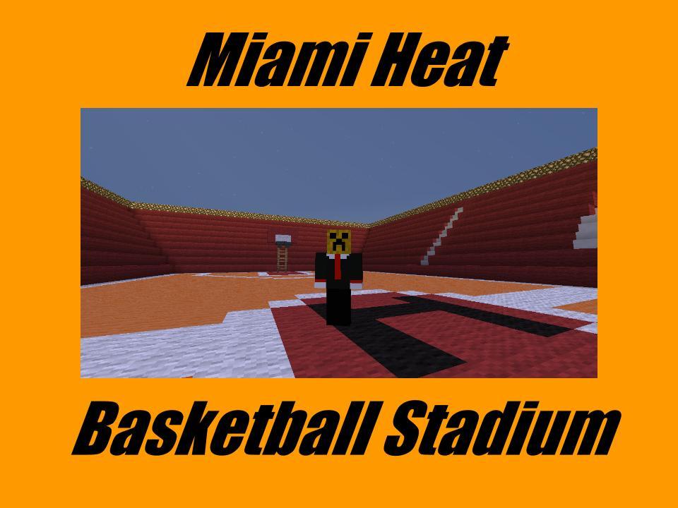 Minecraft Heat Basketball Court