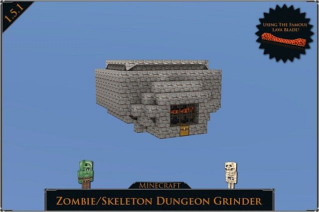 minecraft how to build a dungeon