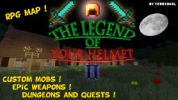 The Legend Of Your Helmet 2 (unfinished, construction stopped) Minecraft Map & Project