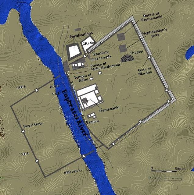 city of babylon map - photo #10