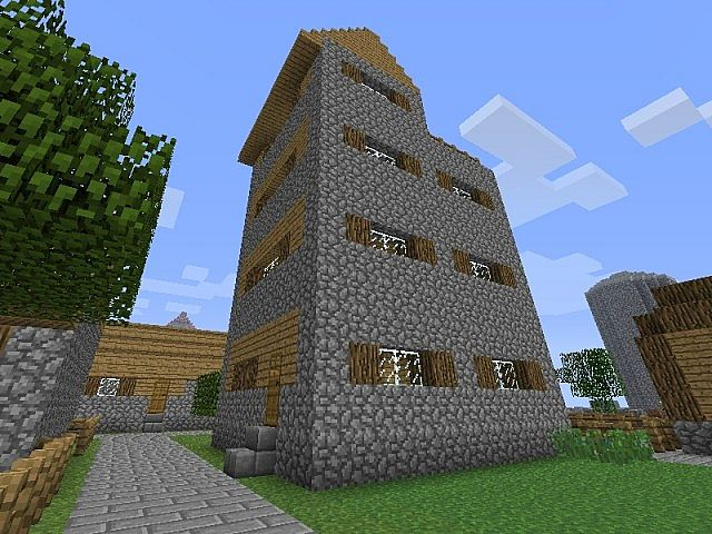 how to make a villager house