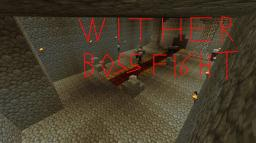 Wither boss fight Minecraft
