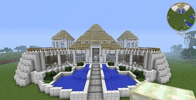 Jurassic park visitor center minecraft project the outer parts are finished now for the inside gumiabroncs Choice Image