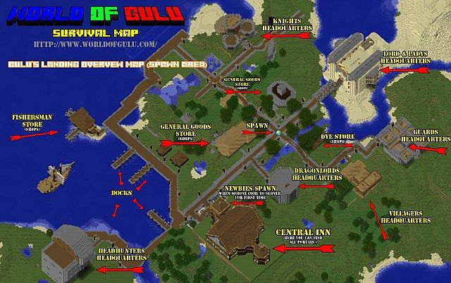 Spawn Overview map