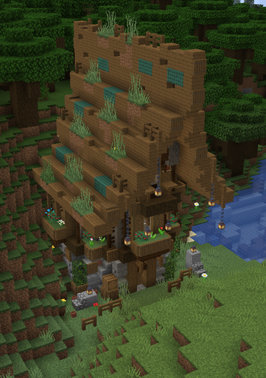 Another rustic home