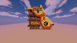 Industrial Concept Structure Minecraft Map & Project