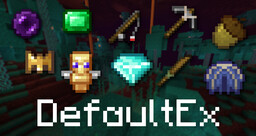 DefaultEx (formerly Default+) Minecraft Texture Pack