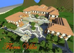 Flores Villa Minecraft Map & Project