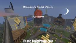 Bullet Phase's Server! (Survival & Creative)  [Dedicated|16GB|War|Factions|mcMMO|PVP] Minecraft Server