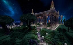 Minecraft Spawn + DOWNLOAD ! Minecraft Map & Project