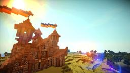 Medieval Town Hall Minecraft Map & Project