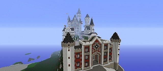Castle Neuschwanstein Kathos Minecraft Project