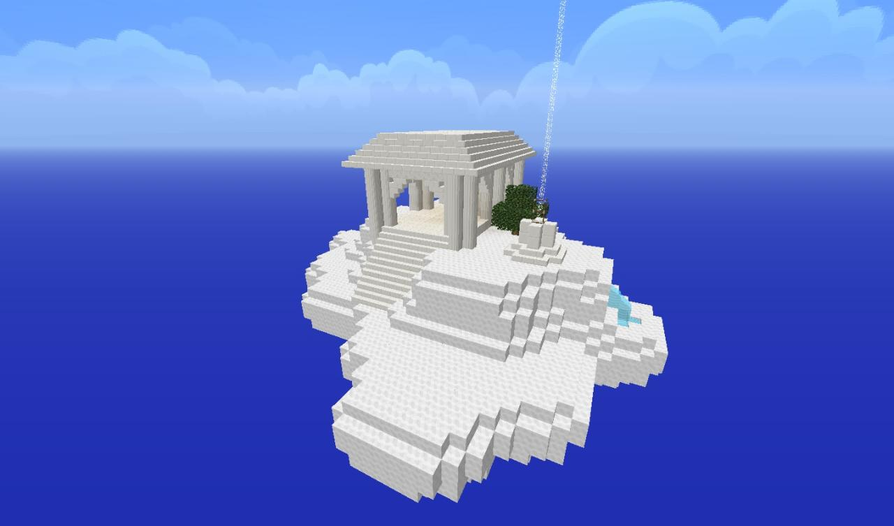 Cloud Temple Survival Minecraft Project