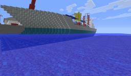 Container ship!  (San Andreas inspired) Minecraft Project