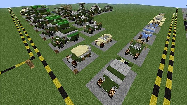 How to build a willys jeep in minecraft for Planet motors on military