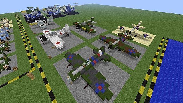 Военная база в Майнкрафт - скачать карту 1.5.2, 1.6.4, 1.7 ...