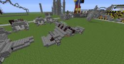 Pack Space marine Aircraft and tank [Warhammer 40.000] Minecraft Map & Project