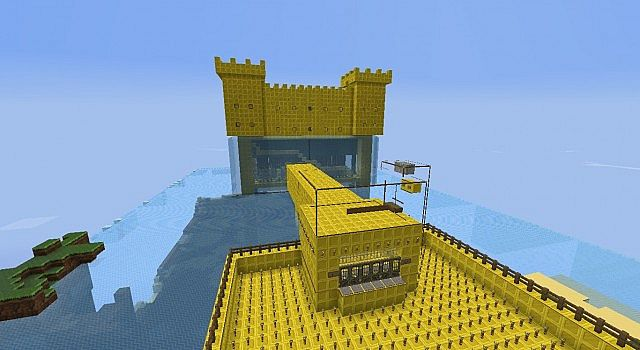 Gold Castle Minecraft Project