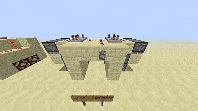 Simple And Compact 2x2 Piston (jeb\u0027s) Door & Simple And Compact 2x2 Piston (jeb\u0027s) Door Minecraft Project