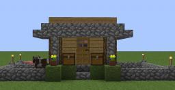 Survival House Idea Minecraft Project