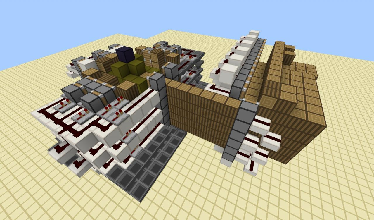 minecraft how to build a tree farm