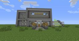 Stone Cold- A Modern Home Minecraft Map & Project