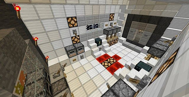 how to make a redstone rocket in minecraft