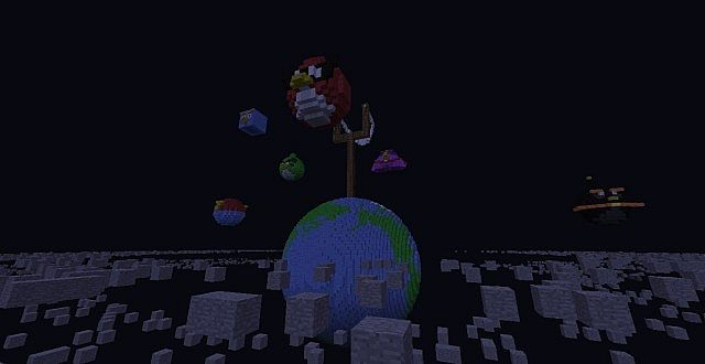 Minecraft Awesome Space Map CONTEST Minecraft Project - Space map