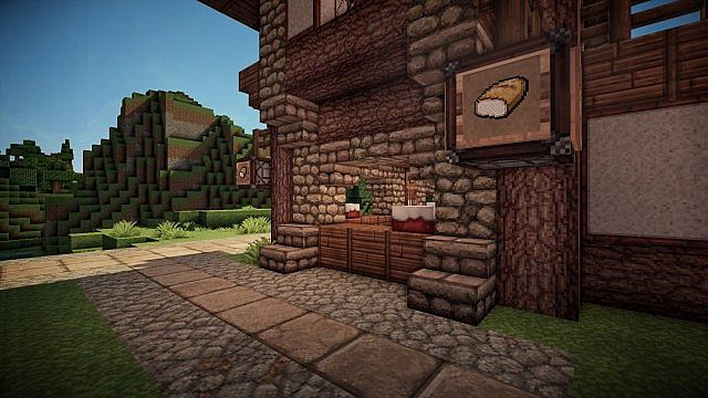 Medieval Bakery Minecraft Project