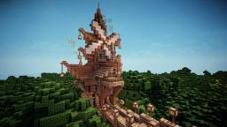 Steampunk House + Download Minecraft Map & Project