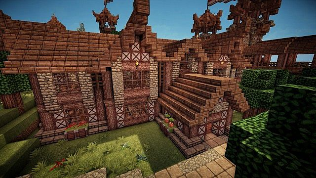 Medieval Library Minecraft Project