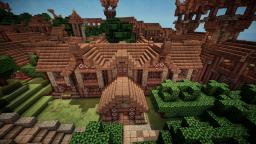 Medieval Library Minecraft Map & Project