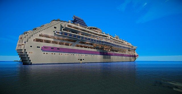 MV Atlantic Cruise Ship Minecraft Project