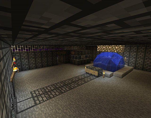 Inside Main Building, Teleporter Hub