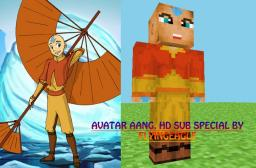 HD Aang from Avatar the last Airbender Minecraft Blog