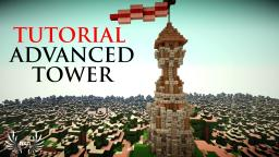 Minecraft: Advanced Medieval Tower Design Minecraft Map & Project